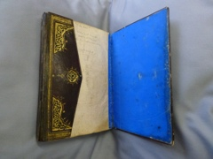 Turkish prayer book, photo courtesy Trustees Chester Beatty Library